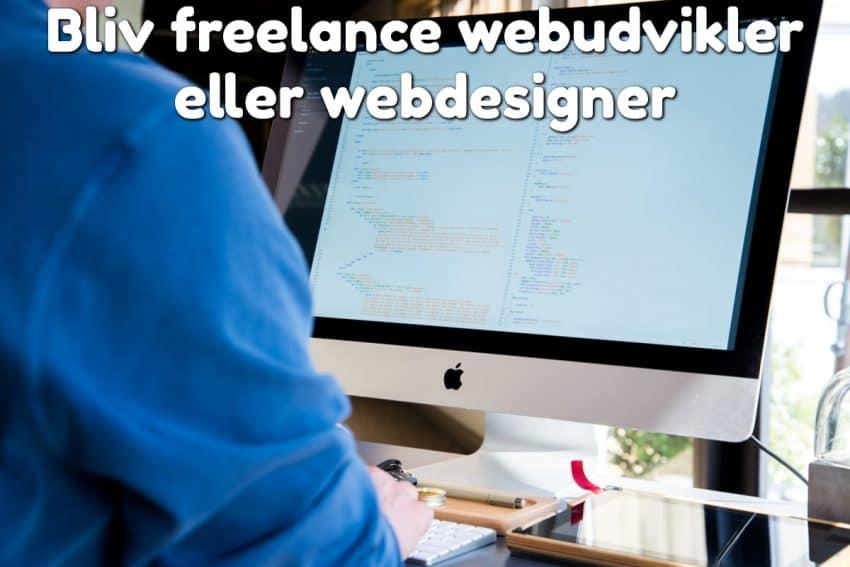 Bliv freelance webudvikler eller webdesigner
