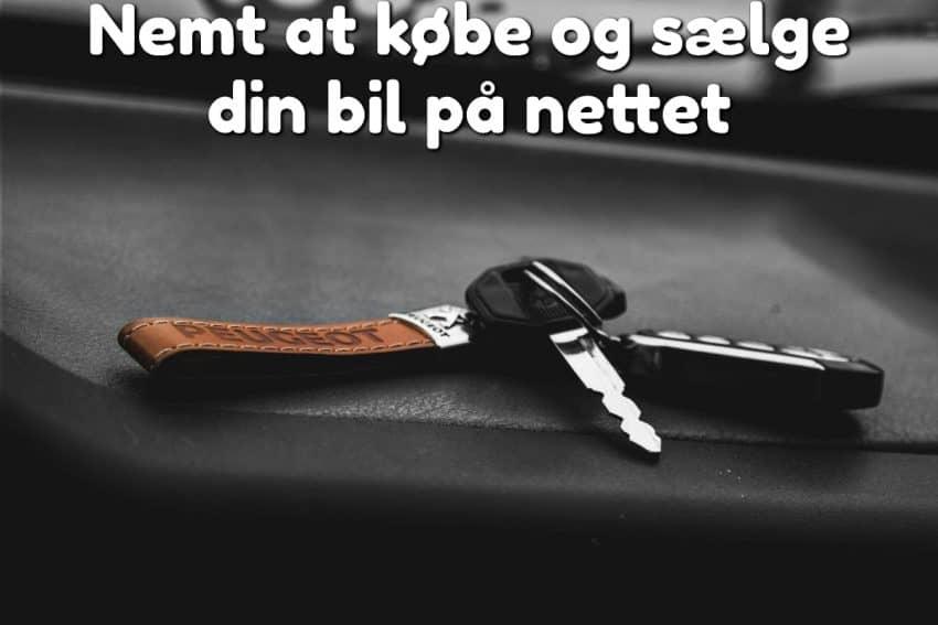 Nemt at købe og sælge din bil på nettet